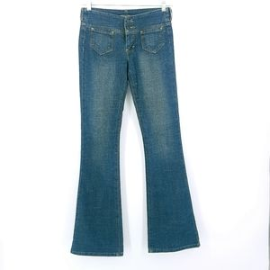 American Eagle Outfitters Wide Leg Blue Jeans